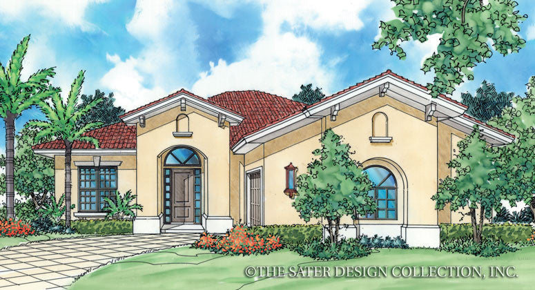 Catalina-Front Elevation-Plan #6505