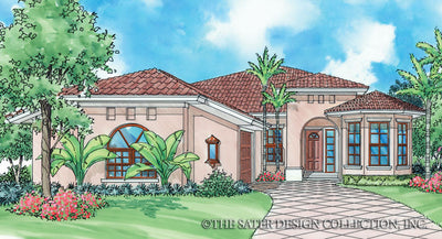 Bella Mia-Front Elevation-Plan #6507