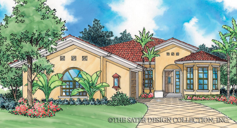 Belizza-Front Elevation-Plan #6508