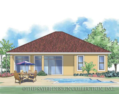 Leora - Rear Elevation Render Image - Plan #6508_RXC