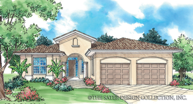 Del Rosa-Front Elevation-Plan #6510