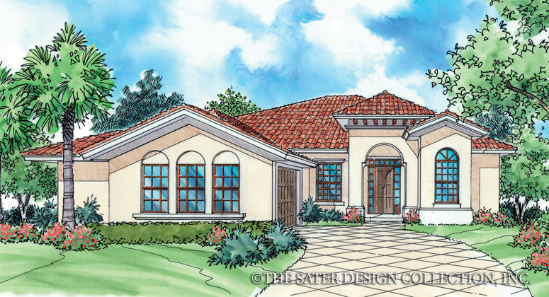 Sondrio-Front Elevation-Plan #6511