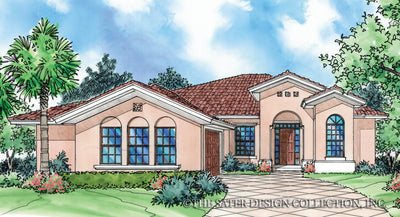 Edda Lago-Front Elevation-Plan #6512