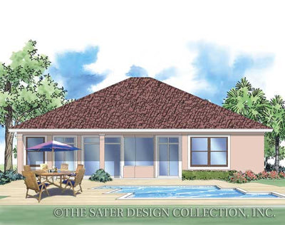 Edda Lago-Rear Elevation-Plan #6512