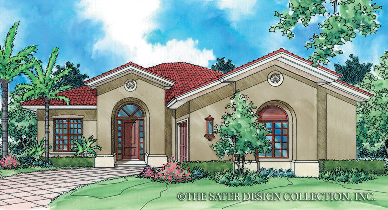 Florianne-Front Elevation-Plan #6514