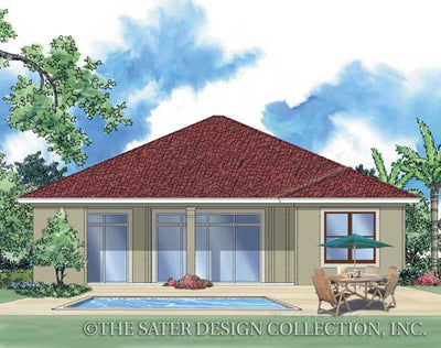 Florianne-Rear Elevation-Plan #6514