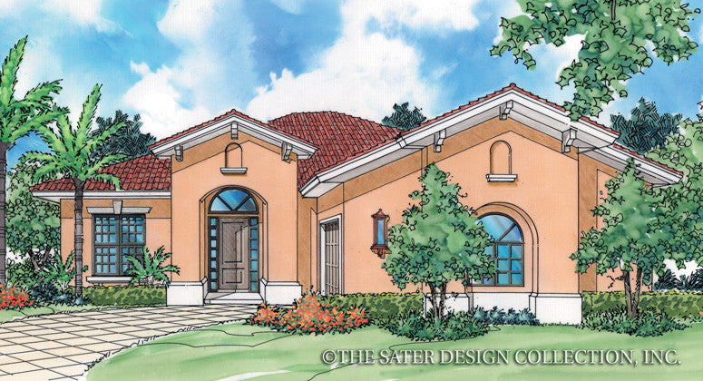 Fabrizio-Front Elevation-Plan #6515