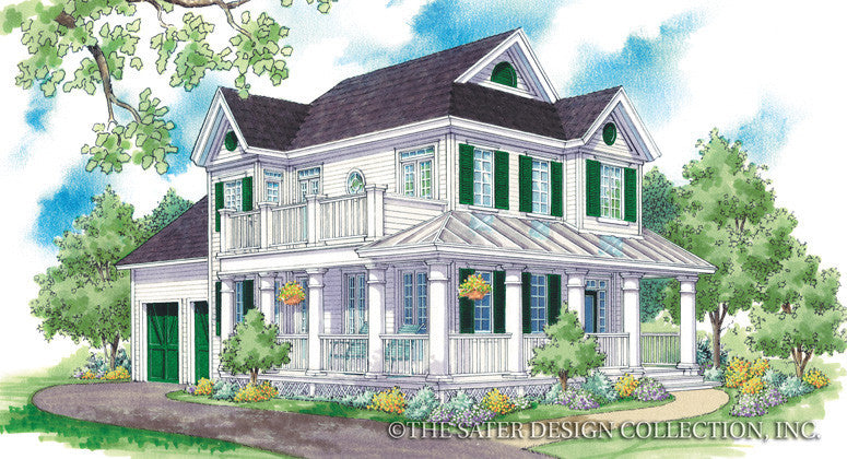 Cabrini-Front Elevation-Plan# 6516