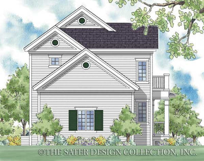 Cabrini-Rear Elevation-Plan# 6516