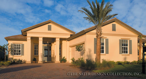 Columned house plans