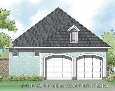 Sycamore-Rear Elevation-Plan #6520