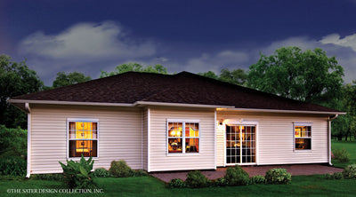 Auburn-Rear Elevation-Plan #6524