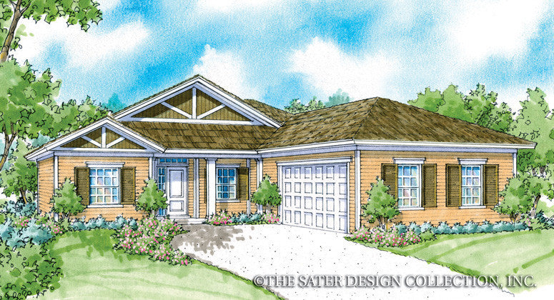 Calhoun-Front Elevation-Plan #6526