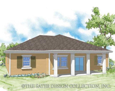 Calhoun-Rear Elevation-Plan #6526