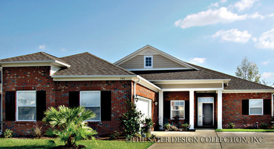 Josephine Home - Front Elevation Image -Plan #6533