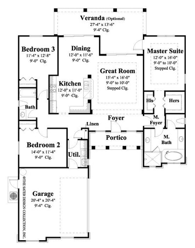 Leora Floor Plan-Plan #6535