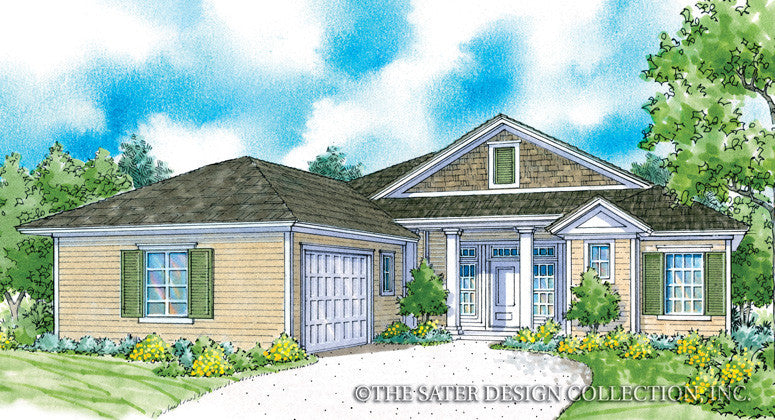 Marquette-Front Elevation-Plan#6536