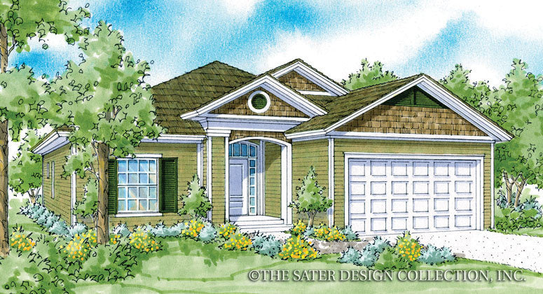 Nichols-Front Elevation-Plan #6537