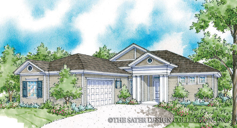 Stewart-Front Elevation Rendering-Plan #6541