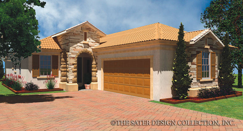Brescia-Front Elevation Rendering-Plan #6548