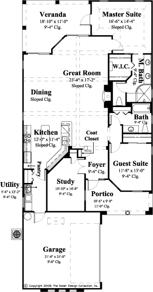 Como-Main Level Floor Plan-#6549