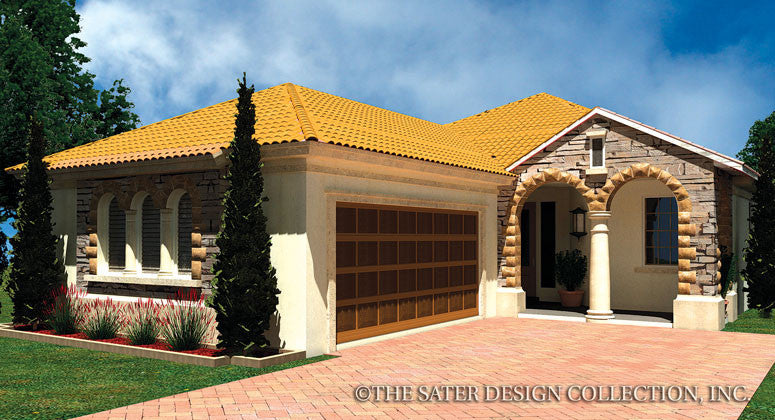 Dentro-Front Elevation-Plan#6550