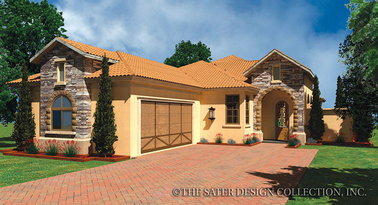 Florenze-Front Elevation-Plan #6552