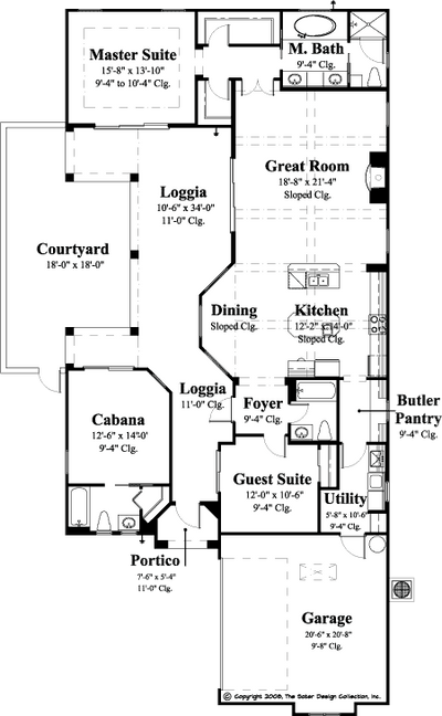 Gavello Floor Plan - Plan #6553