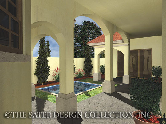 Gavello-Front Elevation-Plan #6553