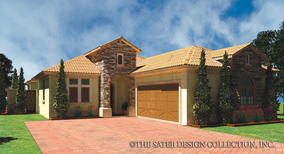 Lizzano-Front Elevation-Plan #6554
