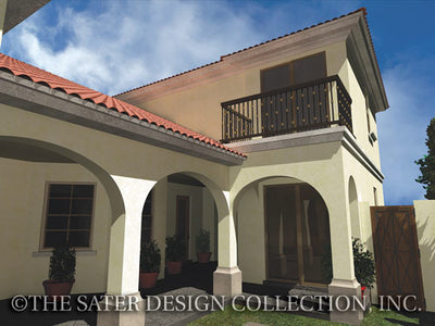 Melito Rear Courtyard Elevation-6555