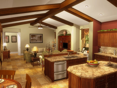Pelago-Great Room/Kitchen-Plan #6556