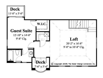 Pelago-Upper Level Floor Plan-Plan #6556