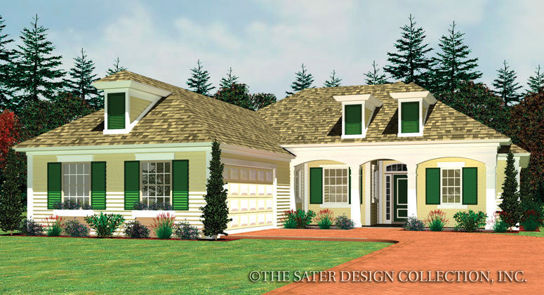 Cherrydale-Front Elevation-Plan #6558