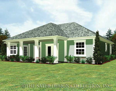 Summerton-Rear Elevation-Plan #6559