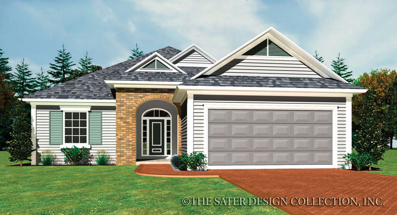 Seneca-Front Elevation-Plan #6560