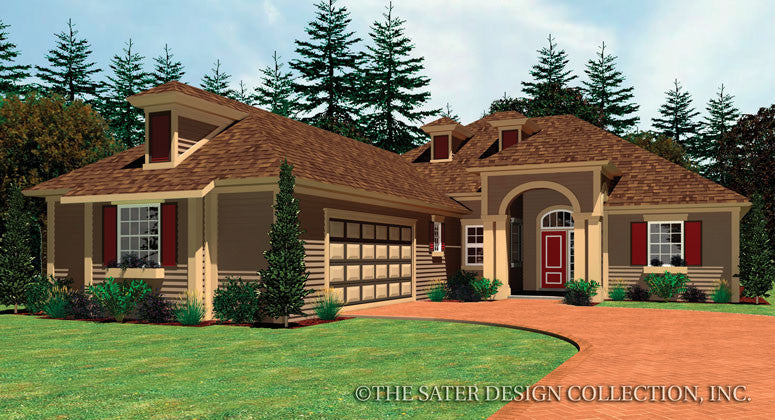 Pendergrass-Front Elevation-Plan #6561