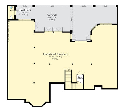 Maynard Home Design Basement floor plan