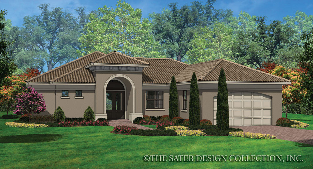Covington-Front Elevation-Plan #6571