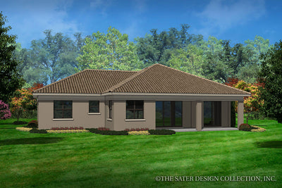 Covington-Rear Elevation-Plan #6571