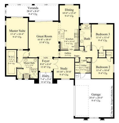Alston Design floor plan