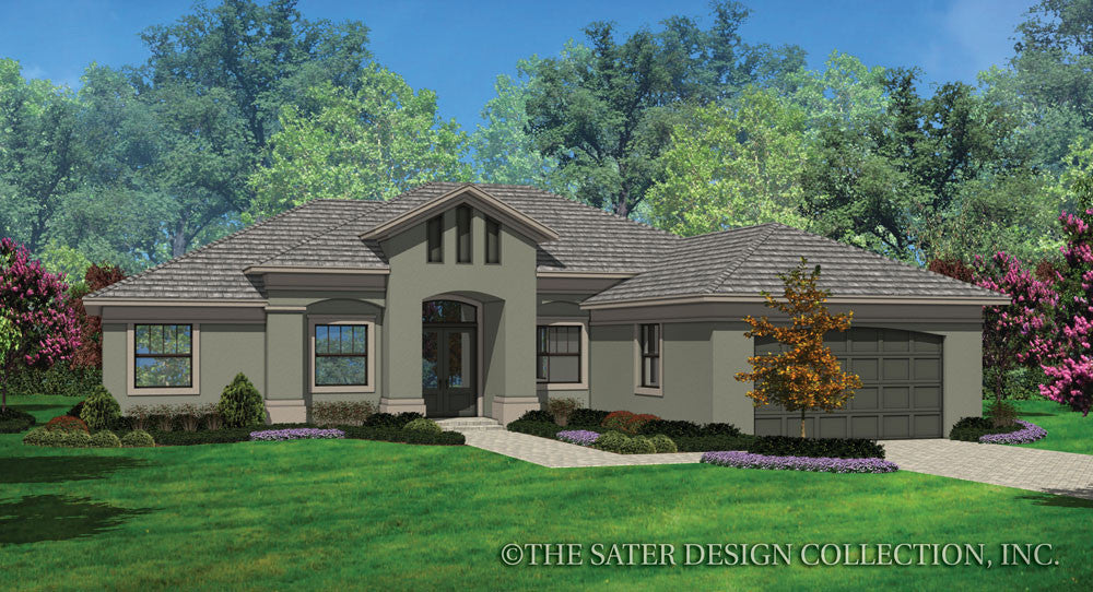 Avery-Front Elevation-Plan #6574
