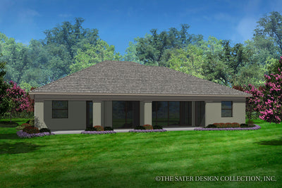 Avery-Rear Elevation-Plan #6574