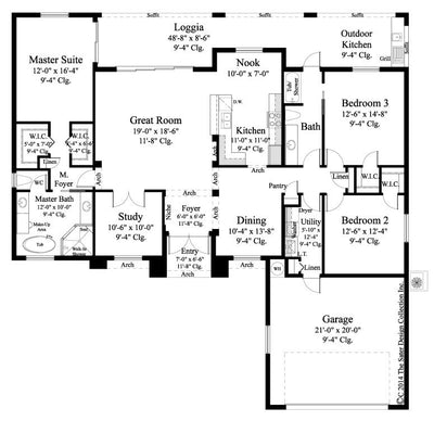Avery Floor Plan -Plan #6574