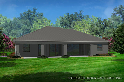 Braedan-Rear Elevation-Plan #6575