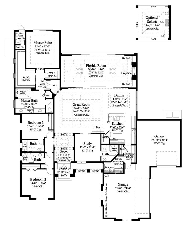 Home plan delvento sater design collection for British home plans