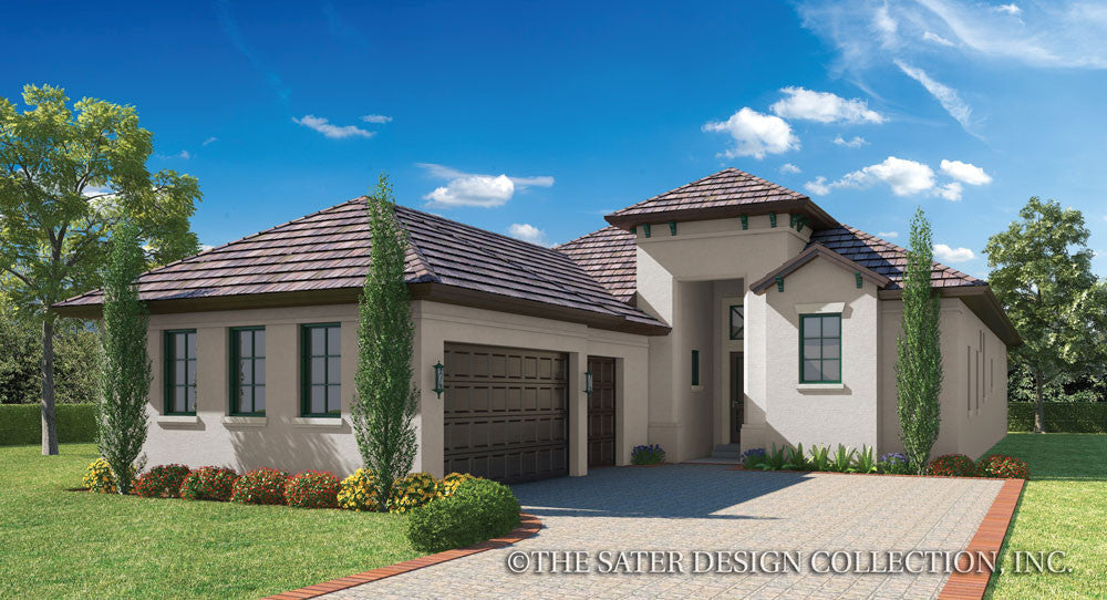 House plan versilia sater design collection for Dan sater homes