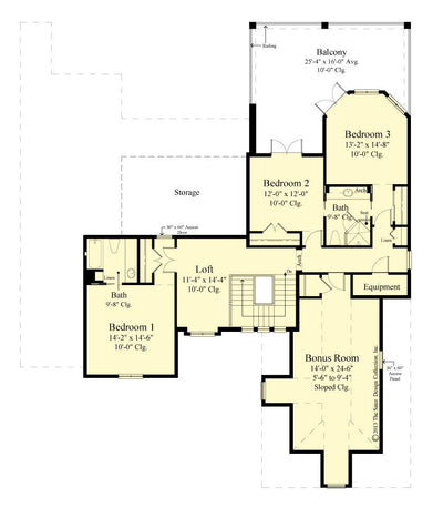 Belcourt Home Floor Plan #6583