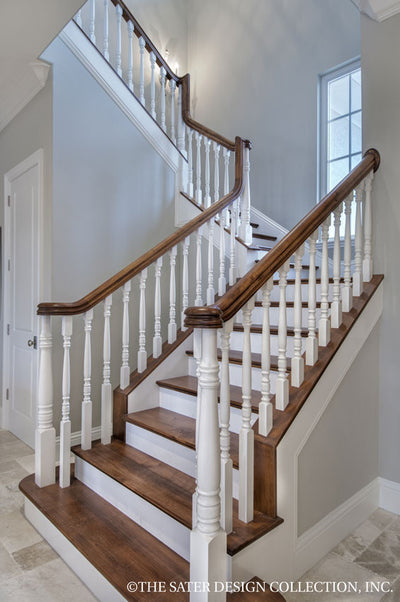 Belcourt Home Plan #6583-stairs