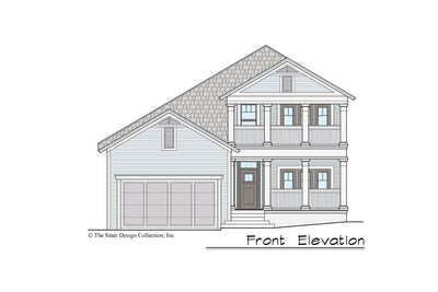 Gardenia House Plan front elevation